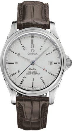 Omega Men's 4833.31.32 De Ville Co-Axial GMT Automatic Watch