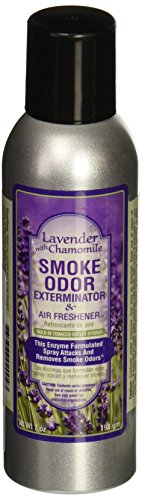 Smoke Odor Exterminator 7oz Large Spray, Lavender with Chamomile (Smoke Odor Eliminator Spray compare prices)