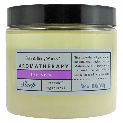 Bath & Body Works Aromatherapy Lavender Sleep Tranquil Sugar Scrub 16 oz