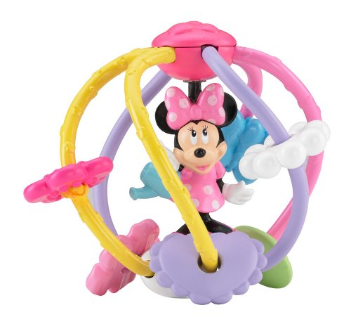 Sale!! Fisher-Price Disney Baby: Minnie Mouse Clutch and Rattle Ball