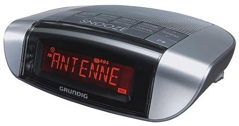 Radio R�veil GRUNDIG SONOCLOCK 660RDS GRIS