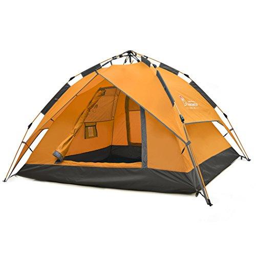 Mountaintop Trekkingzelt Zelt Minipack,Automatische...