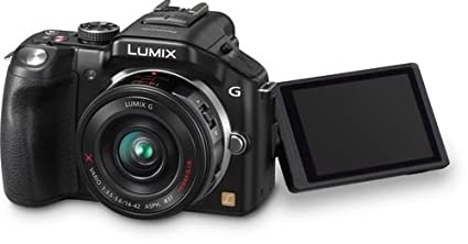 Panasonic-Lumix-DMC-G5W-Mirrorless-(With-14-42mm-&-45-150mm-Lens)