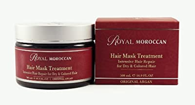Royal Moroccan Hair Mask Treatment for Dry & Colored Hair 16.9oz./ 500 Ml