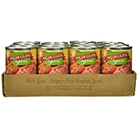 Muir Glen Organic Diced Tomatoes, Fire Roasted, 14.5-Ounce Cans (Pack of 12)