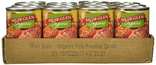 Muir Glen Organic Diced Tomatoes, Fire Roasted, 14.5-Ounce