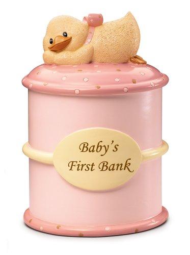 Russ Berrie Baby's First Money Bank, Pink