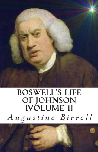 Boswell'S Life Of Johnson front-185273