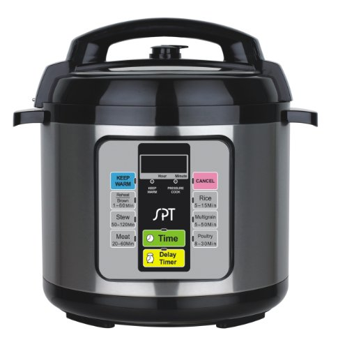 SPT EPC-11A 1000-watt Electric Pressure Cooker, 6.5-Quart (Thermal Pressure Cooker compare prices)