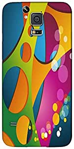 Timpax protective Armor Hard Bumper Back Case Cover. Multicolor printed on 3 Dimensional case with latest & finest graphic design art. Compatible with Samsung Galaxy S-5 / S5 Design No : TDZ-24930