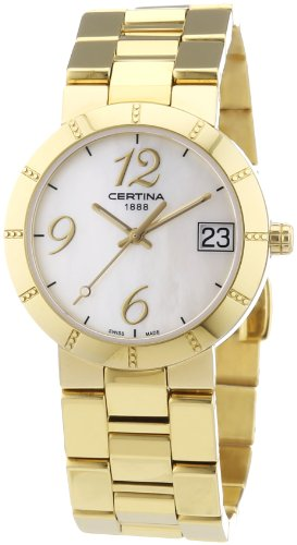 Certina Ladies 'Watch XS Analog Quartz Stainless Steel Coated c009.210.33.112.00