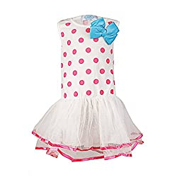 Pikaboo Polka Dotted Tiny One Dress - Pink