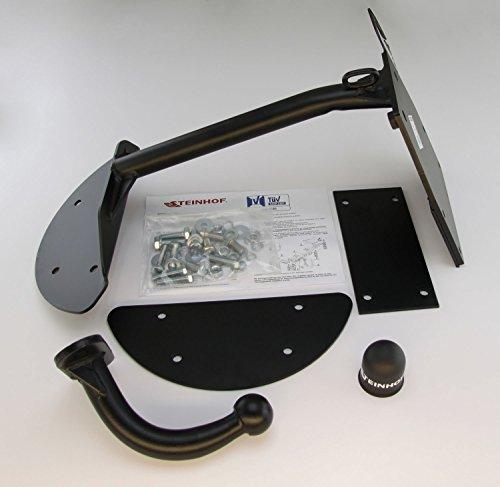 Anhngerkupplung-starr-fr-Opel-Corsa-B-35-Tr-1993-092000-Steinhof-AHK-mit-universalem-E-Satz-7-polig