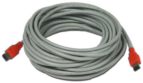 Imagen de Unibrain Cable Firewire 1394 10M (6 pines / 6 pines) compatible con Mac/95/98/w2k/wme/nt