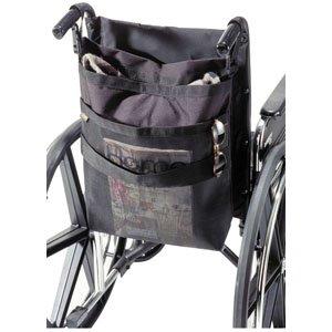 "Wheelchair Back Carry-On, 17-1/2"" X 16-1/2"" X 4-1/2"", Black [1 Each (Single)]"