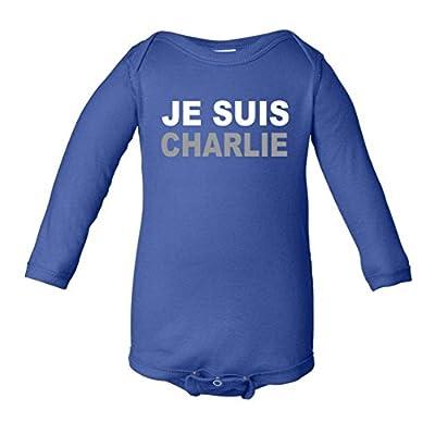 Je Suis Charlie, I Am Charlie Support France Infant Long Sleeve Bodysuit