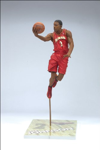 "McFarlane Toys 6"" NBA Series 11 - Joe Johnson Red Jersey - 1"