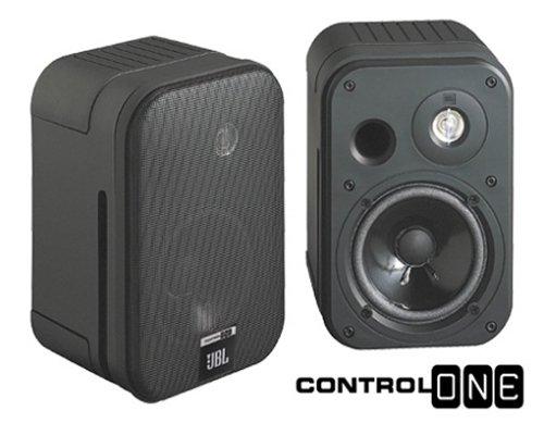 JBL Control One Lautsprecher Paar schwarz