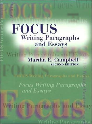 Focus on Essay Writing - DMU