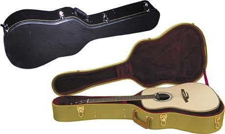 Musicians Gear Deluxe Dreadnought Case, Tweed