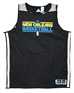 New Orleans Hornets 2012-13 Team Issued adidas Reversible Practice Jersey - Size 4XL... by adidas