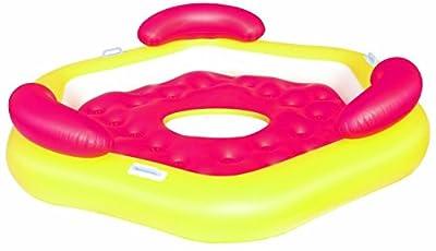 Riesige Badeinsel XXL - Spaß auf dem Wasser mit 191x178cm und mit einer Gewichtsbelastung von 270 kg