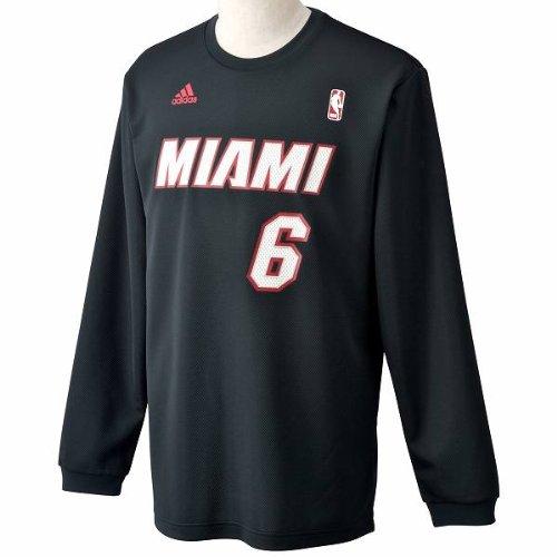 adidas(アディダス)【AE356】NBA PLAYER L/S プレイヤーTシャツ バスケットウェア レブロン・ジェームズ
