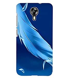 ColourCraft Lovely Feathers Design Back Case Cover for MICROMAX CANVAS XPRESS 2 E313