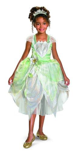Princess Tiana Shimmer Deluxe Costume - Medium (7-8)