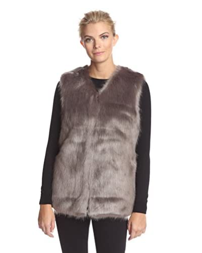 Laundry By Design Women's Faux Fur Vest
