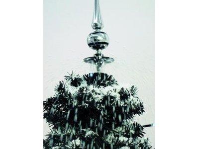 170cm Cascading Black Snow Christmas Tree