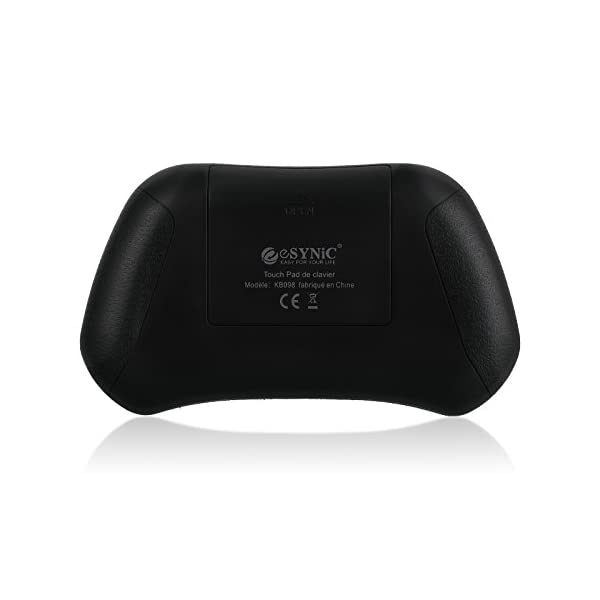 ESYNiC-Clavier-AZERTY-24GHz-Mini-Clavier-Sans-Fil-avec-Trackpad-Souris-Ergonomique-Parfait-pour-Google-Android-Smart-TV-Box-Tivo-PC-Portable-Tablette-HTPC-IPTV-Raspberry-Pi-PS3-KODI-XBMC-Projecteur