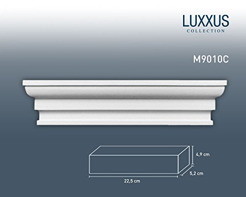 Capitello da pilastro per sistema Byblos Orac Decor M9010C LUXXUS