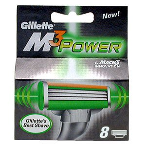 Gillette Mach3 Power pack de 8 lames