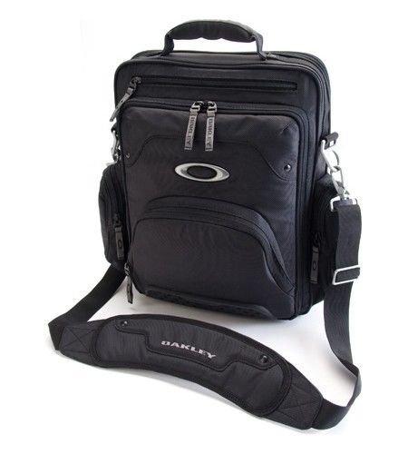 15 Laptop Computer Travel College Vertical Messenger Bag Black Chemosenang