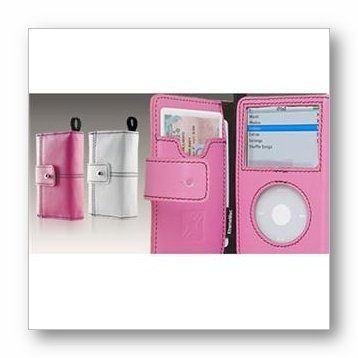 XtremeMac MicroFolio Chic for iPod Video - Pink