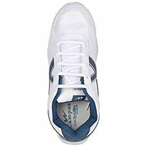 Action Campus Falcon Series White & Bottel Green Color Casual Shoes For Men