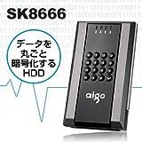 大切なデータを保護aigo SiLK シリーズ ストレージ Safe SK8666