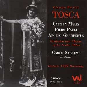 Legendary 1929 La Scala Recording Starring Carmen