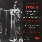 Tosca: Historic 1929 Recording