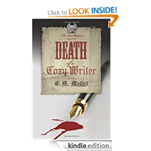 Kindle Daily Deal: Death of a Cozy Writer, by G.M. Malliet. Publisher: Midnight Ink (July 8, 2008)