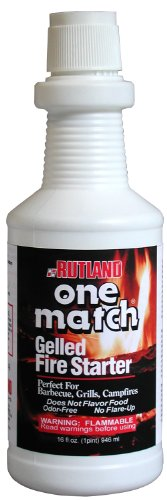 One Match Gel Fire Starter, 16 fl. oz. (Coal Stove Fire Starter compare prices)