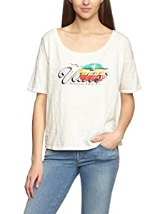 Vans Damen T Shirt Spirit Of Vans. crème, XS, VSXWCEM