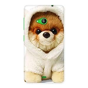 Premium Boo Dog Multicolor Back Case Cover for Lumia 535