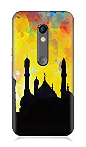 Motorola Moto X Play 3Dimensional High Quality Designer Back Cover by 7C