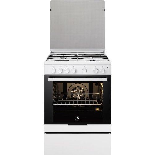 Electrolux EKM6130AOW cuisinière - fours et cuisinières (Autonome, Blanc, Electrique, Combiné, conventionnel, décongeler, Grill, Verre)