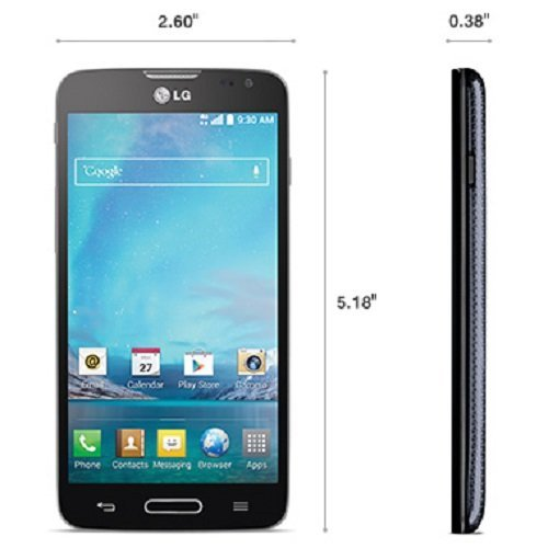 LG Optimus L90 D415 4G GSM Android Smartphone, T-Mobile, Grey (Cell Phone Accessories For L90 compare prices)