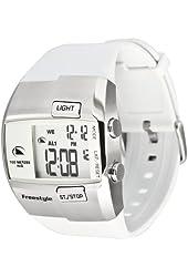 Freestyle Men's FS84855 Durbo Digital White and Steel Polyurethane Watch