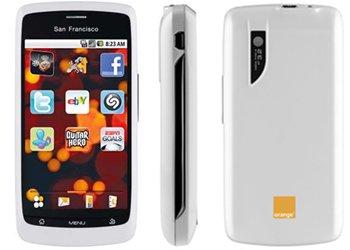 NEW Orange San Francisco White ANDROID PHONE UNLOCKED 5027141598512