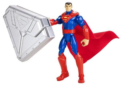 "Batman Steel Shield Superman 4"" Action Figure - 1"